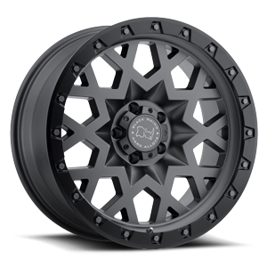 Sprocket 5 Gunmetal with Black Lip