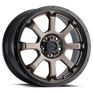 219 Nemesis CUV Dark Satin Bronze with Satin Black Lip and Satin Clear-Coat 5 lug