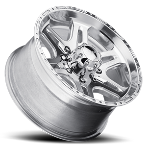 207-208 Badlands Polished 8 lug