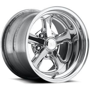 Rascal - U391 Polished | Traditional Lip 5 lug