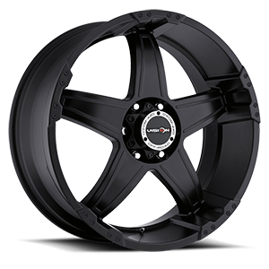 395 Wizard Matte Black 6 lug
