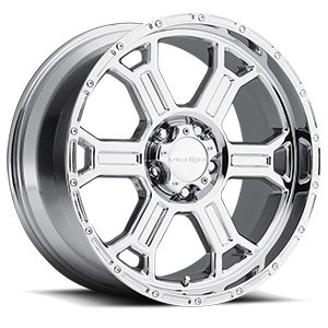 372 Raptor Chrome 5 lug