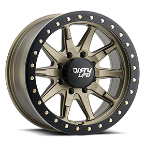 Dirty Life 9304 DT-2 8 Satin Gold w/ Optional Rash Ring
