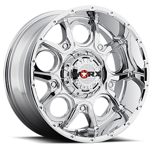 809 Rebel Chrome 6 lug