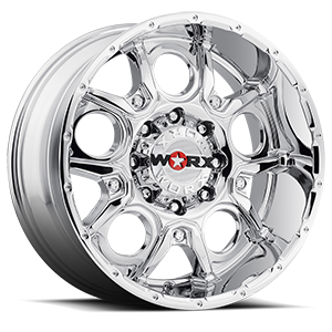 809 Rebel Chrome 8 lug