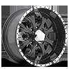 HE791 MAXX Gloss Black Machined