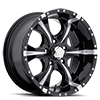 HE791 MAXX Gloss Black Milled