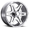 6 LUG 207-208 BADLANDS POLISHED