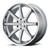 6 LUG ABL-32 KAISER SILVER WITH CHROME LIP