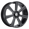 6 LUG ABL-15 APOLLO SATIN BLACK MILLED