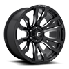 Blitz - D673 22x10 ET-18 | Gloss Black & Milled