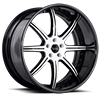 5 LUG BS3 WHITE WITH BLACK LIP