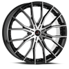 5 LUG CLV-36 GLOSS BLACK MACHINED