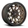 Covert - D696 Matte Bronze with Black Ring - 20x9