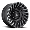 8 LUG CYCLONE - D683 MATTE BLACK/MACHINED/DDT