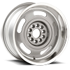 5 LUG CORVETTE RALLY (SERIES 623) SILVER MACHINED