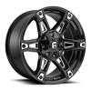 Dakar - D622 Gloss Black & Milled