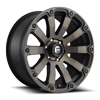 Diesel - D636 20x9 +0 | Matte Black/Machined/DDT