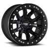 6 LUG 9303 DT-1 MATTE BLACK W/ OPTIONAL RASH RING