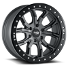 6 LUG 9303 DT-1 SATIN GRAPHITE W/ OPTIONAL RASH RING