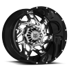 8 LUG DS652 GLOSS BLACK LIP WITH BRIGHT PVD CENTER