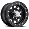 6 LUG DAYTONA SIMULATED BEADLOCK (SERIES 841) GLOSS BLACK