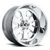 FF24 - 6 lug Polished