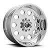 FF31D - 10 Lug Super Single Front Polished