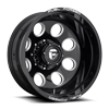 FF31D - 8 Lug Rear Gloss Black & Milled