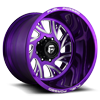 FF41 - 8 Lug Candy Purple w/ Milled Windows