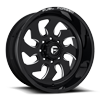 FF52D - Super Single Front 8 LUG Gloss Black & Milled