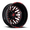 FF45D - Rear Gloss Black w/ Red Windows