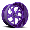 FF59 - 5 Lug Candy Purple & Milled