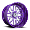 FF66 - 8 Lug Candy Lollipop Purple
