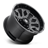 8 LUG FFC37 | CONCAVE GLOSS BLACK & MILLED