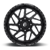 8 LUG FFC51D - CONCAVE SUPER SINGLE FRONT MATTE BLACK & MILLED