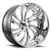 6 LUG TWIZZ - F216 BRUSHED AND POLISHED