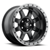 8 LUG TROPHY - D551 MATTE BLACK W/ ANTHRACITE RING