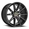 Gemello - M219 20x10.5 | Gloss Black & Machined DDT