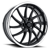 Schott Wheels - Galaxy 6 Matte Black / Polished