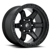 Kicker 6 - D697 17x9 ET-12 | Matte Black