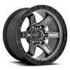 Kicker 6 - D698 17x9 ET-12 | Anthracite w/ Black Lip