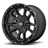 6 LUG KM100 - SYNC SATIN BLACK