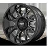 MO806 Gloss Black Milled
