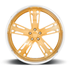 5 LUG MALICE -X83 CANDY GOLD W/ POLISHED LIP