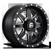 Maverick - D538 - UTV 14x7 | Black & Milled