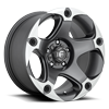 Menace - D684 Anthracite & Machined