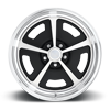 5 LUG MOPAR - US464 MATTE BLACK | POLISHED | TRADITIONAL LIP