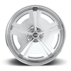 5 LUG MOPAR - US464 HI-LUSTER POLISHED | SOFT LIP