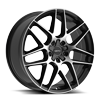 5 LUG 435 FOIL BLACK MACHINED